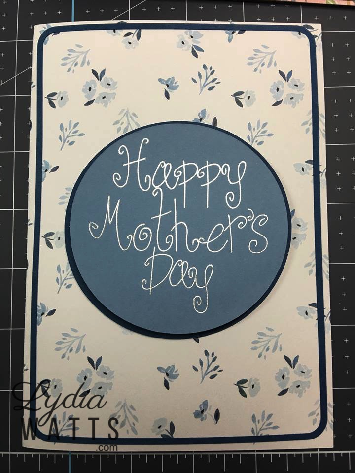 Cricut Access Project: Easy Mother's Day Card – Lydia Watts