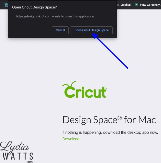 Sharing Project Links From The Cricut Design Space For Desktop App